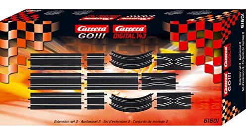 Carrera Go!!! - Accessoires pour circuit - 1/43 eme analogique - Kit d'extension 2