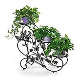 SHBV 3 macetas Plantador Plantador Hierbas Soportes de Flores Uso Interior y Exterior Estilo Vintage