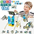 STEM Toys for 8 Year Olds Kids Education Solar Robot - Science Experiment DIY Building Kit Stem Toys with Working for Boys & Girls Age 7 8 9 10 11 12 (6 7 Need with Help) in A Storage Gift Box