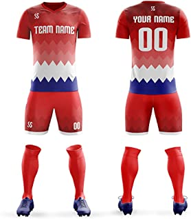 Custom Sportswear Make Your Own Soccer Jersey Set Personalized Team Uniforms