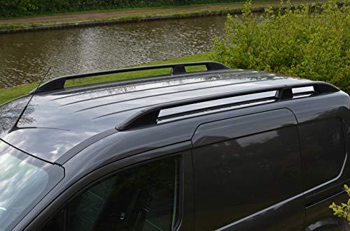 Barras de techo para L1 Transit Connect (2012+) aluminio negro