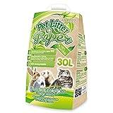 Arquivet Pet litter paper - Lecho papel reciclado, pequeños mamiferos - 30 L