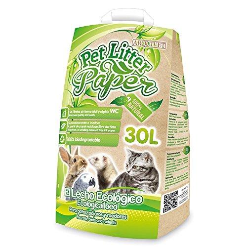 Arquivet 8435117840232 Pet Litter Paper 30l: Amazon.es: Productos ...
