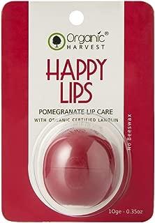 Organic Harvest Lip Balm, Pomegranate, Red, 10 g