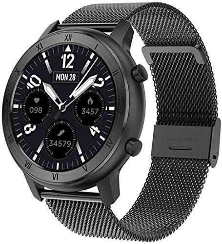 TYUI Hombres s y mujeres s IP68 impermeable relojes inteligentes deportes fitness seguimiento Bluetooth sueño Monitoreo compatible con Android e IOS Teléfonos-A
