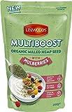 Semillas molidas de cáñamo y moras blancas bio Linwoods 200 g
