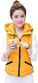 XFentech Women Puffer Vest - Winter Vest Quilted Slim Vest Women Outdoor
