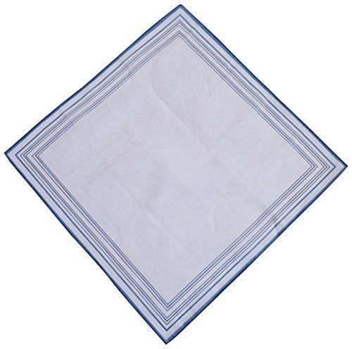 Octave - Mouchoir - Homme Blanc Blanc