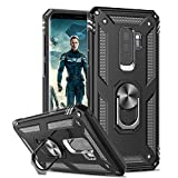 LeYi for Samsung Galaxy S9+ Plus Case with Ring Holder,
