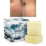 2 PK- Oniyea Sea Salt Handmade Bar Soap 3.5 Oz Each, Natural Goat's Milk, All Skin Types, Exfoliating Acne Deeply Clean Problem Skin, Face Wash Body Wash Skincare, Women Men Gift