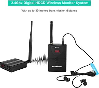 $97 » Monitor Receiver System, Professional Digital Wireless 2.4GHz in Ear Monitor System Audio System for Speech Stage Studio Exhibit Lecture