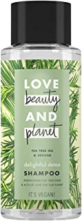 Love Beauty and Planet Shampoo Delightful Detox Tea Tree Oil & Vetiver, 400 ml