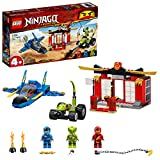 LEGO-Le Combat du supersonique Ninjago Jeux de Construction, 71703, Multicolore