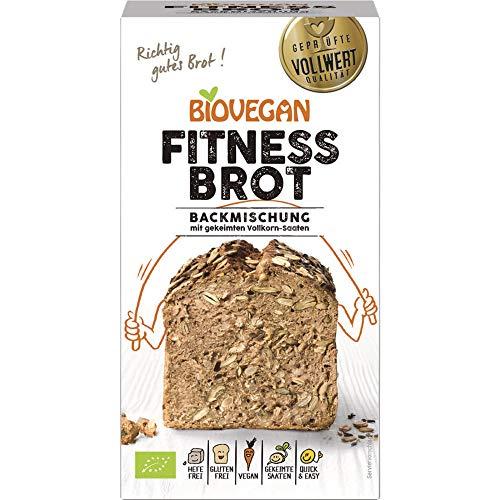 Biovegan Bio Brotbackmischung Fitness, BIO (1 x 330 gr)