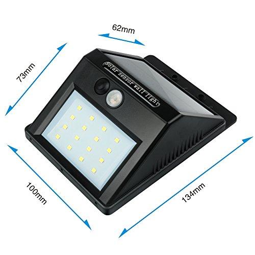 1 Pezzi - Luci Solari UniqueFire® Lampada Wireless...