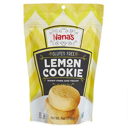 Nana's Gluten Free Lemon Cookies - Vegan and Kosher - 7 Oz Package