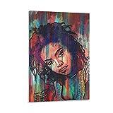 yingzi Lauryn Hill Abstraktes Poster, dekoratives Gemälde,