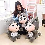 Olalalife Stuffed Animal 1pcs 35cm Crayon Shin Chan Plush Toy Japanese Anime Shin-chan Cosplay Totoro Plush Cute Stuffed Soft Doll Kids Toy