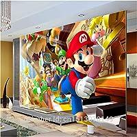 カスタム大写真の壁紙スーパーマリオ壁壁画クラシックゲーム壁紙部屋の装飾壁アート寝室廊下背景wall03