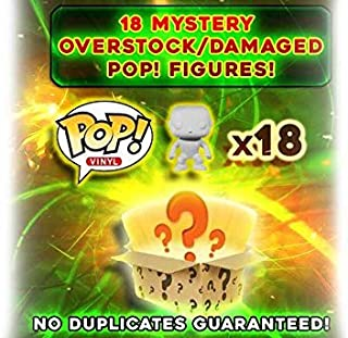 Funko Pop Mystery Box: Damaged/Overstock Vinyl Figures 18-Pack