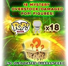 Funko Pop Mystery Box: Damaged/Overstock Vinyl Figures 18-Pack