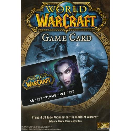 World of WarCraft - GameCard (60 Tage Pre-Paid) [Edizione : Germania]