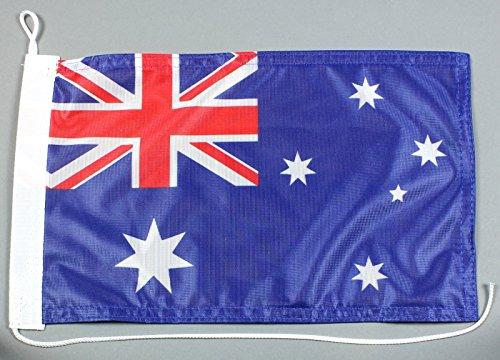 Buddel-Bini Bootsflagge Australien 20 x 30 cm in Profiqualität Flagge Motorradflagge