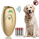 無駄吠え防止グッズ 超音波 携帯式 愛犬しつけ用グッズ 室内外使用可能 愛犬のトレーニング しつけ 近隣トラブル 安眠妨害 防止 解決 バークコントロール LED 表示ランプ 全犬種使用可能 ゴルード