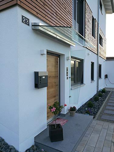 Windschutz für Haustüren aus Sicherheitsglas NEU