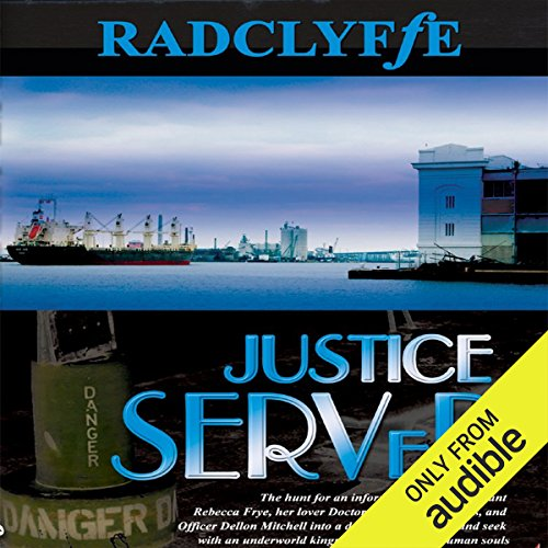 Justice Served audiobook cover art