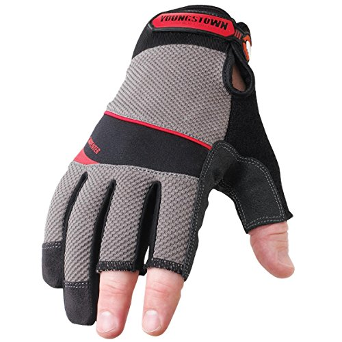 Youngstown fingerless woodworking gloves