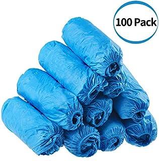 Copri stivale in plastica per la protezione del pavimento di moquette per uso medico Copriscarpe usa e getta edile da 200 medico edile