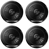 Pioneer & DCO 4 x Pioneer TS-G1620F 6.5-inch 2-way Car audio coaxial speakers 6-1/2'