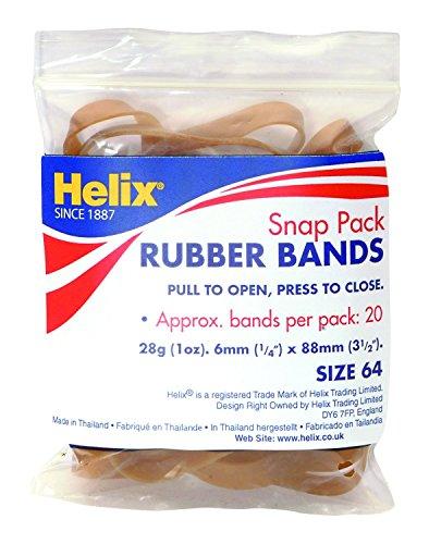 Helix Q71020 Snap rubberen banden 1 x Polsband BULK BRON