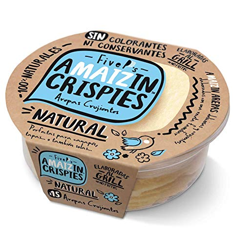 Amaizin Crispies Natural 15 Unidades 84 g