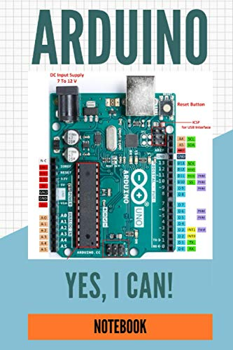 Arduino Notebook For Kids: Note Pages