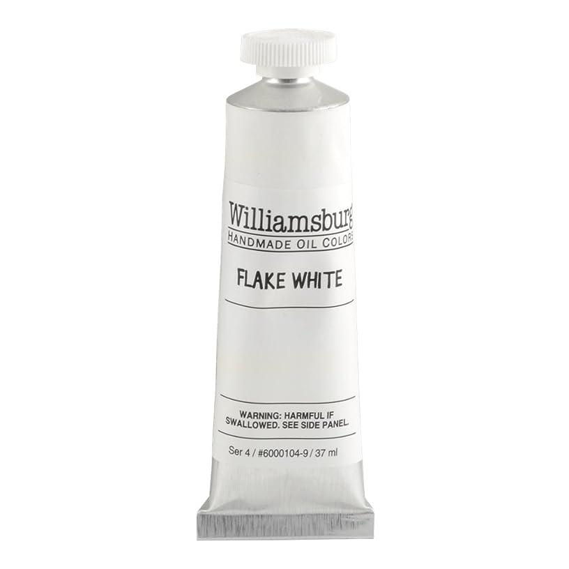 Williamsburg Oil 37ml Flake White (60001049)