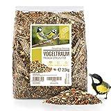 wildtier herz I Alimentación para Pájaros - 2.5kg sin Trigo I Comida de Aves para Alimentos - Alimento para Aves