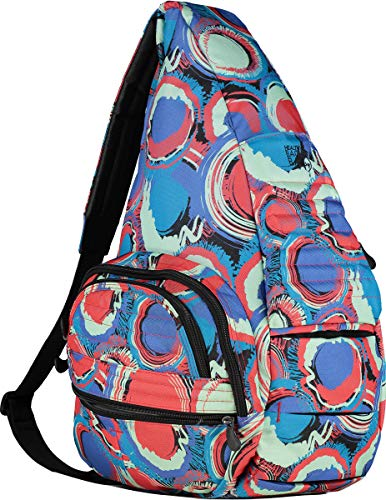 AmeriBag Healthy Back Bag tote Carry All Extra Large (Paint Ball)