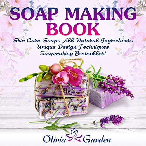 Soap Making Book audiobook cover art