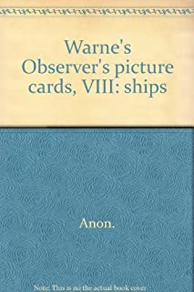 Warne's Observer's picture cards, VIII: ships