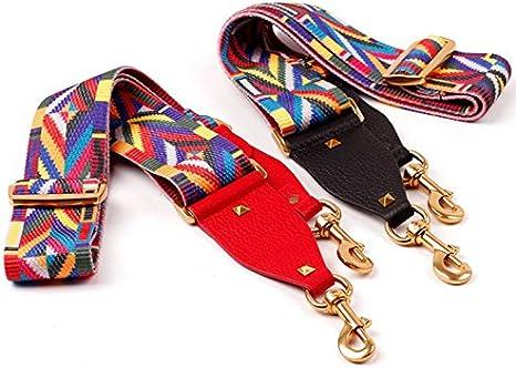 """47 /""""Schulter Cross Body Ersatz Weave Strap Handtasche Gurt mit Metallschnallen"""