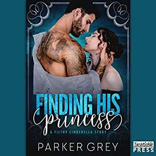 Finding His Princess: A Cinderella Story audiobook cover art