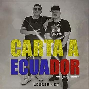 Carta a Ecuador (feat. Exit)