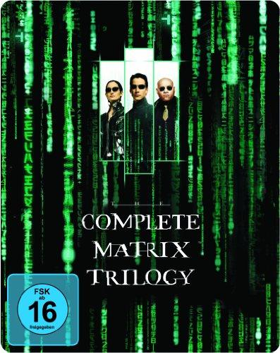 Matrix Trilogy Steelbook (Exklusiv bei Amazon.de) [Blu-ray]