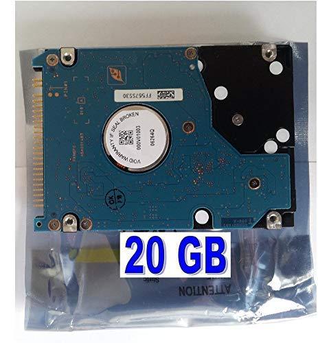 "20GB Disco Duro de, Accesorios alternativos, Adecuado para: Apple PowerBook G4 15"" M9676LL/A portátil"