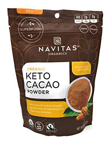 Navitas Naturals Pulver Kakao Keto, 227 ml