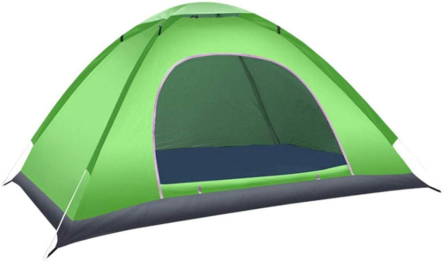 Outdoor Camping Tent 3 4 Camping Tent Festival Essential Dome Tent, 100% Waterproof with Sewn in Groundsheet