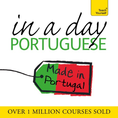 Portuguese in a Day audiobook cover art