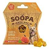 Soopa Calabaza y Zanahoria Saludables Bocadillo para Perro, 50 g